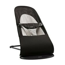 Babyschaukel Wiege Wippe Babywippe Balance Soft Black/Grey mesh 005028 BabyBjörn