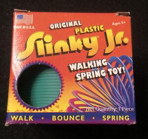 Original Plastic Slinky Jr. 2008 Toy by Poof Slinky Inc. Green Made USA New
