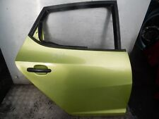 SEAT IBIZA MK4 2002-2009 5DR OSR RIGHT REAR DOOR IN CITRUS YELLOW - S1T (A81)