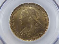 1897 PENNY Choice UNC-BU Graded & Encapsulated LCGS 85, MS65 (Freeman 145)