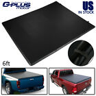 Fit For 04-12 GMC Canyon Chevy Colorado 6Ft Bed Tri-Fold Trunk Tonneau Cover