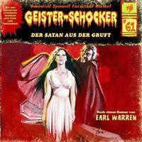 GEISTER-SCHOCKER - DER SATAN AUS DER GRUFT-VOL.61  CD NEW WARREN,EARL