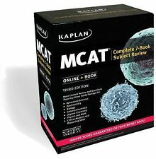 Kaplan Test Prep: MCAT Complete 7-Book Subject Review :Online + Book 3rd Edition