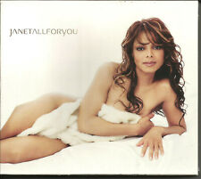 JANET JACKSON All for you w/ SPECIAL SLIPCASE ADVNCE PACKAGING PROMO CD SEALED