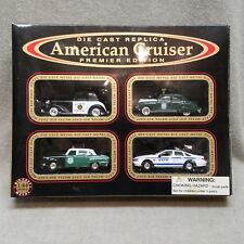 American Cruiser - 4 Police Series 1:64 Die Cast Premier Edition Collectors Set