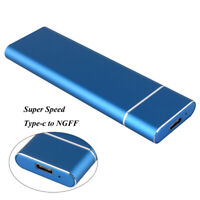 Portable USB 3.0 TYPE-C 2TB M.2 Solid State Disk External Mini Hard Drive Disk