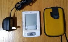 Palm Pilot Zire 21 Handheld Pda Organizer palmOs planner w/charger & case