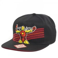 Marvel Iron Man Black Snapback Cap