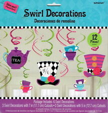 Alice in Wonderland Birthday, Child Party Decorations