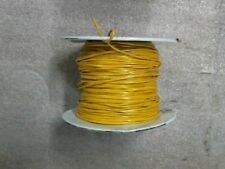 4lbs 5oz of Coleman 18 AWG Yellow Machine Tool/Equipment Wire 600V MTW TEW 105C