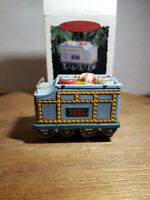 Hallmark Keepsake - Yuletide Central Train Collector's Series Ornament 1995 NIB