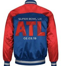 Super Bowl 53 LIII Starter Jacket New england Patriots XL
