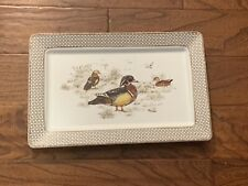 Williams Sonoma PLYMOUTH GATE Duck Fall/Thanksgiving Serving Platter 16 x 10 NEW
