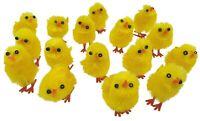 8 - 160 Mini Yellow Chicks Bonnet Hat Craft Kids Easter Egg Hamper Decorations