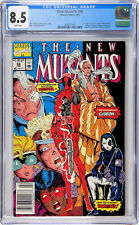 New Mutants #98 CGC 8.5 1st Deadpool