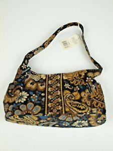 Bella Taylor Curve Shoulder Bag Purse Handbag Quilted Zipper Amaretto