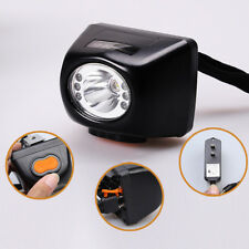 3W 4500LM Miners Cordless Power LED Helmet Light Lamp Torch