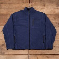 "4e1bdd3161d Mens Vintage 90s Timberland Blue Outdoors Fleece Jacket Large 44"" R12354"