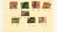 Great Britain Used Collection of 8 Stamps