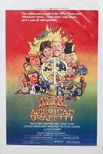 """""""More American Graffiti""""  Movie Poster 18"""" x 12"""""""