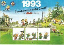Calendrier scout(FSC) -1993-Geerts( jojo).