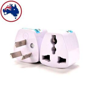 Universal Travel Adapter International UK USA EU to AU Australian Power Plug