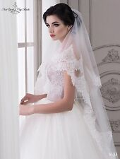 New  Wedding Veil ''Grace'' from NYC Bride, made in Europe