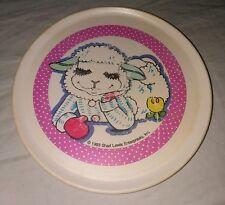 "4"" Vintage shari lewis lamb chop plate kids toy tv show memorabilia melamine"