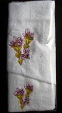 AUSTRALIAN FLOWER NO 3  HAND TOWEL & FACE WASHER- B NEW