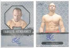 Shane Carwin 2011 Leaf MMA Metal Autographs Card # BASC1 UFC