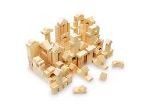 Sack of 100 Wooden Building Blocks - Bricks