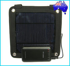 3W Portable Solar Panel Pack+ 7200mAh Power Bank Mobile Charger External Battery
