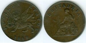 Ionische Inseln  1 Obolo 1819  vorzüglich