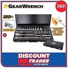 "GearWrench 36 Piece 120XP™ 1/2"" Drive Metric Socket Set King of Sidchrome 83063"
