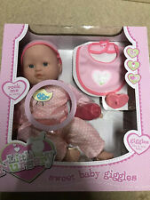 Bnib Sweet Baby Giggles With Accessories