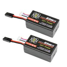 2x LiPo Battery For PARROT AR.DRONE 2.0 & 1.0 Quadricopter 1500mAh 11.1V 20C