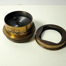 Jules Vogel of Philadelphia Brass Bound Lens