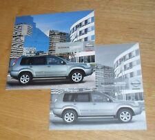 Nissan X-Trail Brochure Set 2005-2006 - 2.2 TD 2.0 2.5 - SE Columbia Aventura
