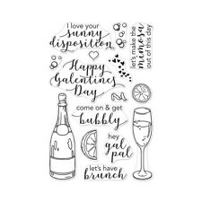 Hero Arts Poly Clear Cling Stamps Gal Pal Brunch