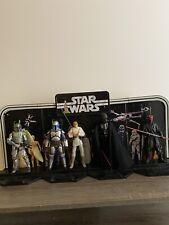 Star Wars Black Series Loose Figures Lot (5) With Legacy Pack Display
