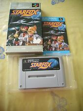 >> NINTENDO STARFOX STAR FOX SFC SUPER FAMICOM JAPAN IMPORT COMPLETE IN BOX! <<