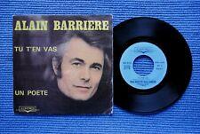 ALAIN BARRIERE - NOËLLE CORDIER / SP ALBATROS ALB 10.118 / 1975 (F)