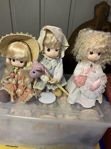 """Precious Moments Dolls -Lot 3-16"""""""