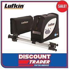 Lufkin Multi Line Laser Level with Plumb Dot + Tripod Kit - New Model - LCL4SET