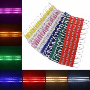 5730 3LED SMD Module Injection Decorative Waterproof LED Strip Light Lamp DC 12V