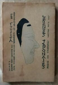 Légendes Japonaises FOUJITA éd L'Abeille d'Or 1922