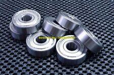 "[10 Pcs] R6ZZ (3/8"" X 7/8"" X 9/32"") Metal Shielded Ball Bearing Bearings R6 R6z"