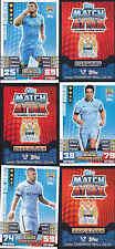 MATCH ATTAX 14/15 Dzeko MANCHESTER CITY Card No.180 FREE POSTAGE