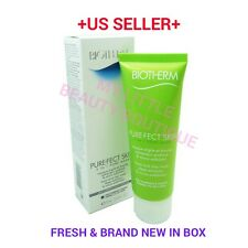 biotherm PURE FECT SKIN 2 in 1 PORE MASK 2.53oz Pore Cleansing Exfoliator BNIB