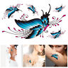 Women Sexy Waterproof Butterfly Fake Tattoo Body Chest Temporary Art Sticker
